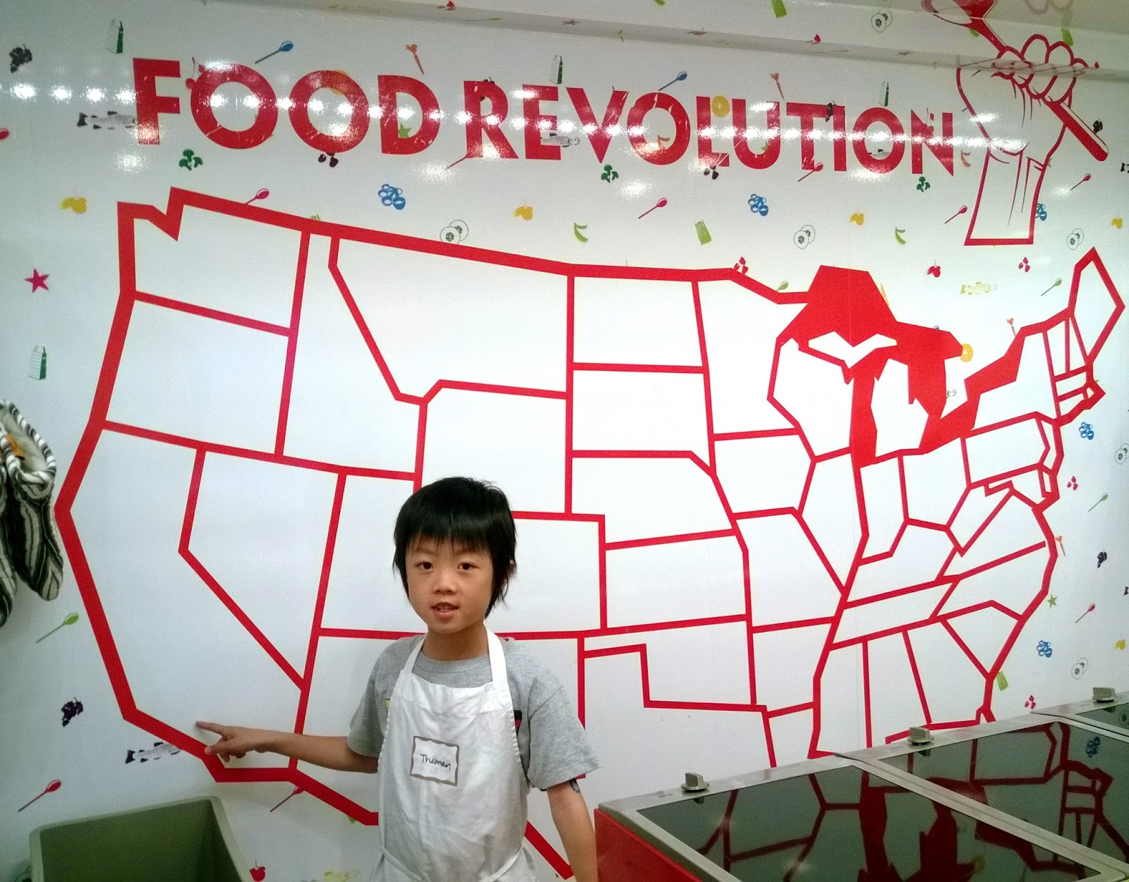 Jamie Oliver Food Revolution Big Rig Tour