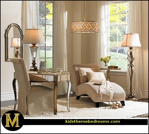 Decorating theme bedrooms maries manor hollywood living for Decor glamour