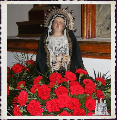 Virgen altar del Cristo, Monda