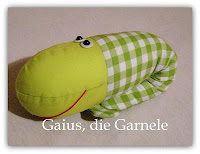 Schnittmuster fr Gaius, die Kuschelgarnele