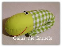 Schnittmuster für Gaius, die Kuschelgarnele