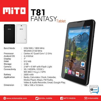 Mito Fantasy T81