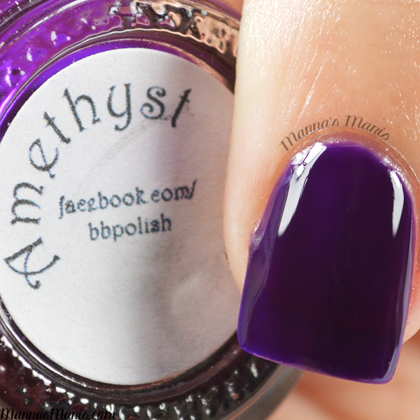 Bad Bitch Polish Amethyst swatches