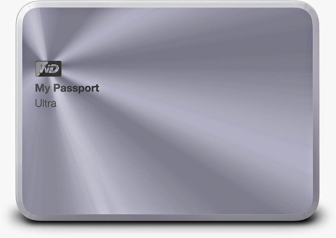 WD My Passport Ultra Metal Kaplamalı Harici Diskler
