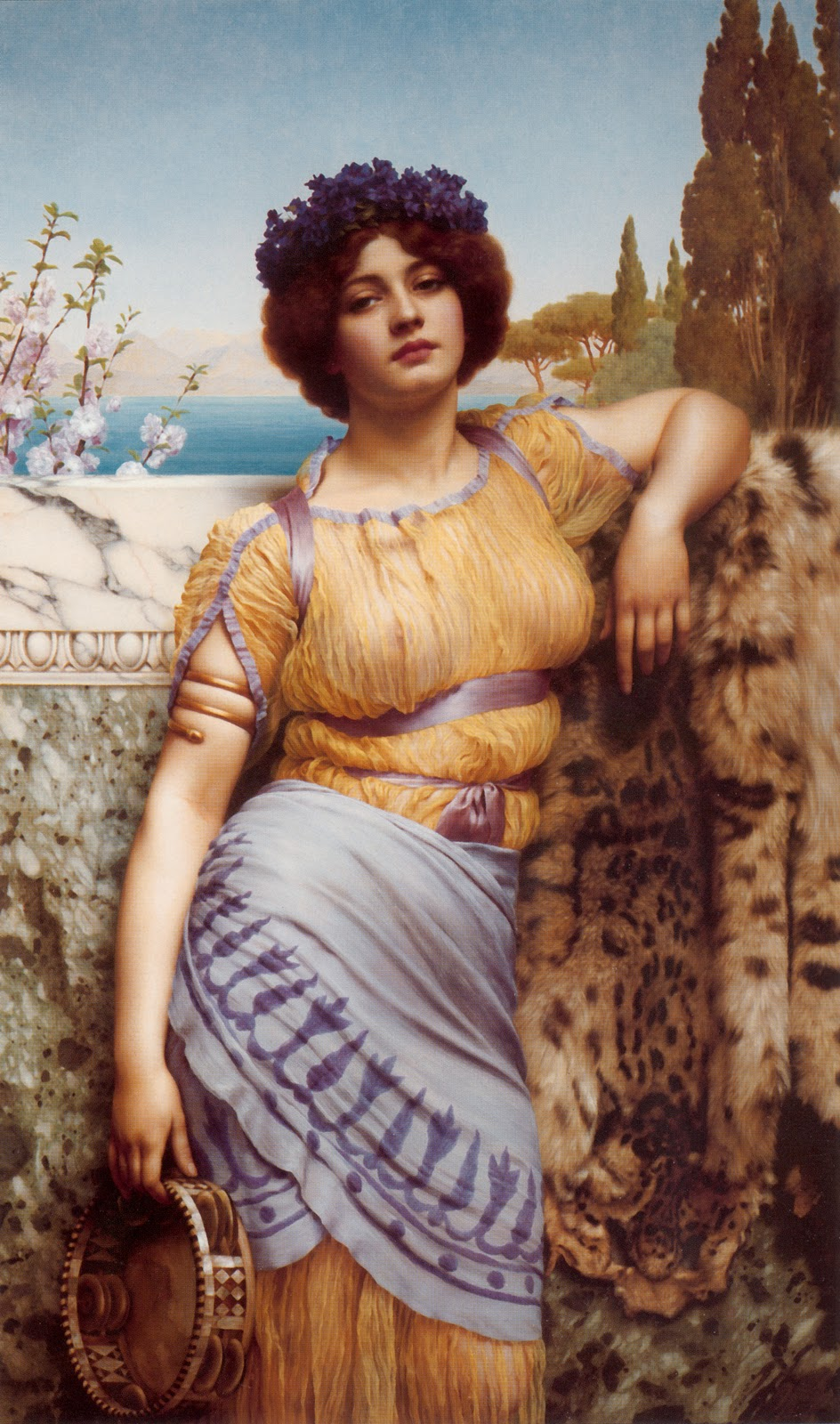 godward dancing girl