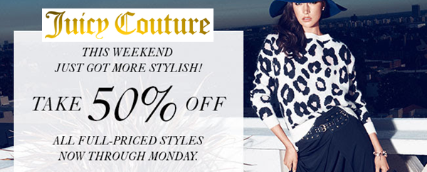 http://www.juicycouture.com/new-arrivals/l/100?&smtrctid=32535178&utm_source=promo&utm_medium=email&utm_campaign=10092014_Holiday_Weekend_2&CID=em_10092014_Holiday_Weekend_2&&&