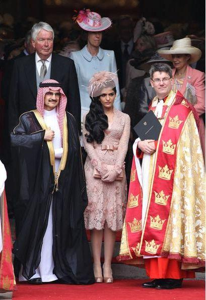 La Princesse Amira Tawil au mariage du Prince William  (Photos)