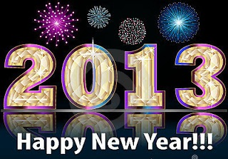 gambar ucapan tahun baru 2013