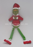 Grinch Candy Legs Tutorial