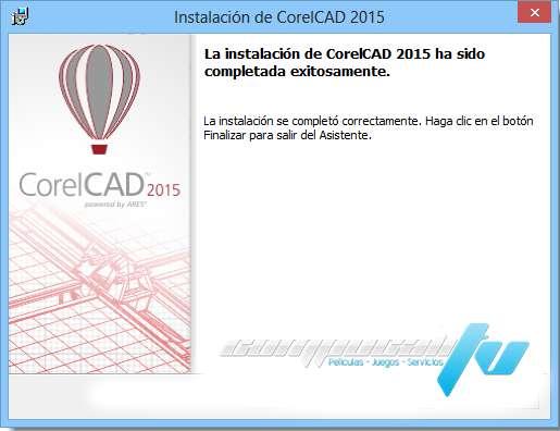 CorelCAD 2015.5 Build 15.2.1.2037 Español