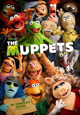 The Muppets 2011 movie poster film review