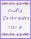 Ik ben gekozen in de top 3 bij Cardmakers