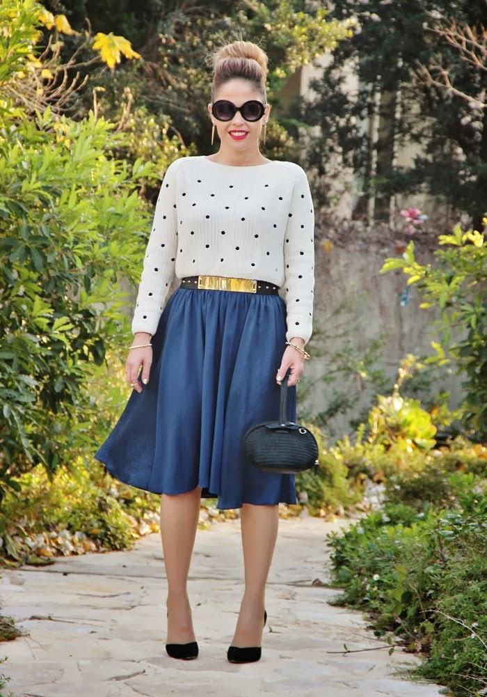 בלוג אופנה Vered'Style נקודות וניטים