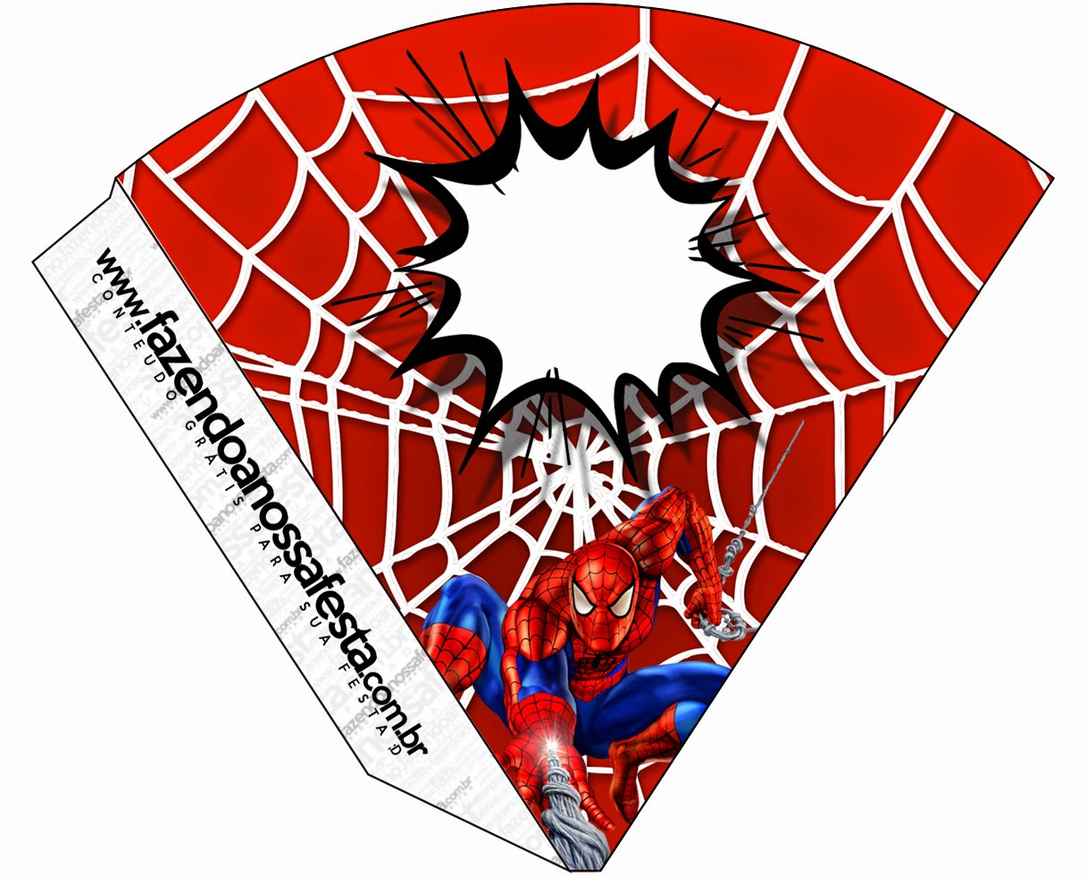 Displaying 18> Images For - Printable Spiderman Cupcake Toppers...