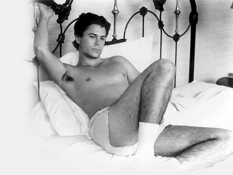 Rob lowe naked tumblr confirm. happens