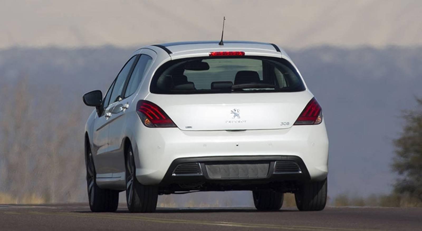 Peugeot 308 Thp 2016 Ganha Motor Flex  Pre U00e7o