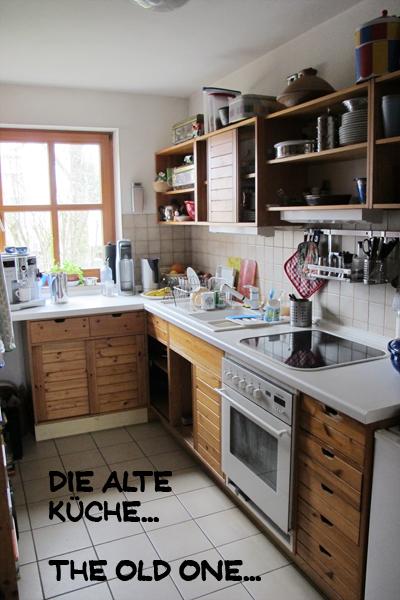 mixed media fun die neue k che my new kitchen. Black Bedroom Furniture Sets. Home Design Ideas