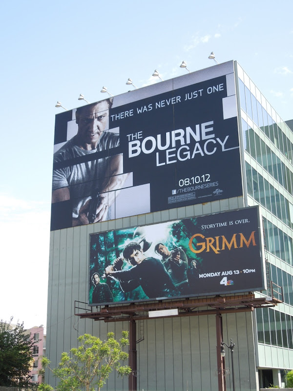 Bourne Legacy Grimm billboards