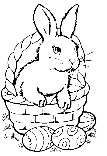 Easter Coloring Pages February