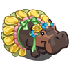 FarmVille Flower Hippo  (Day 7)
