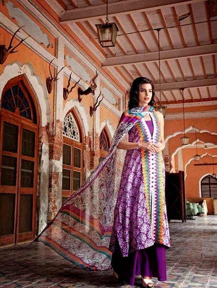 Gul Ahmed Printed Chiffon Collection