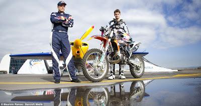 Petr Pilat & Kirby Chambliss double stunt