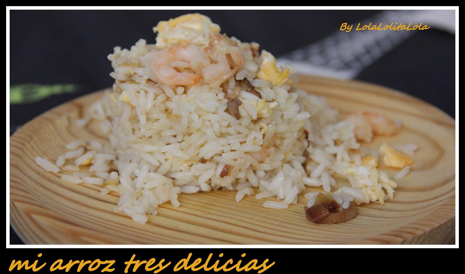 Arroz tres delicias lolitalola receta i for Cocinar arroz 3 delicias