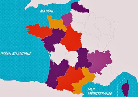 http://education.francetv.fr/geographie/ce2/infographie/les-22-regions-de-france-metropolitaine