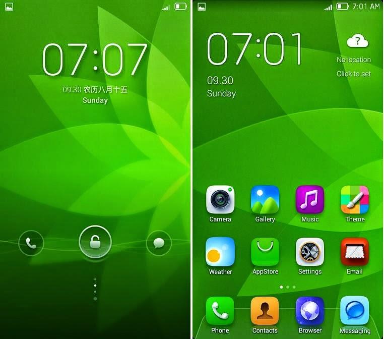 Install Custom ROM Lewa OS v5 di Lenovo A316i | Feel Green!