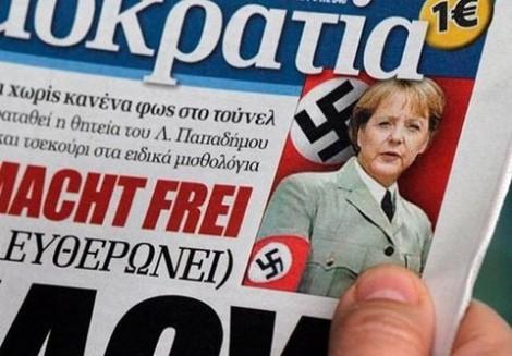 Angela Merkel para los griegos