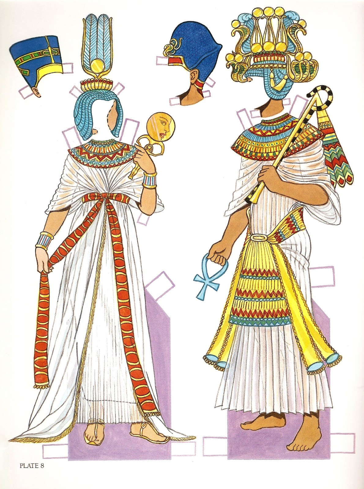 ancient egypt clothing The climate in ancient egypt included hot summers and mild winters therefore, the clothing they wore was light.