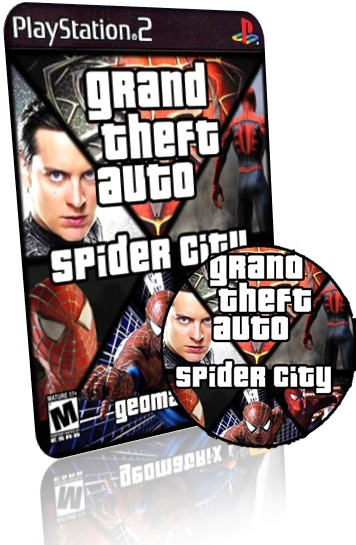 GTA Spider City  PS2