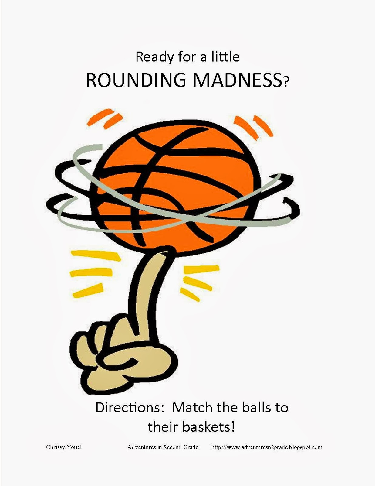http://www.teacherspayteachers.com/Product/A-Little-March-Rounding-Madness-215265