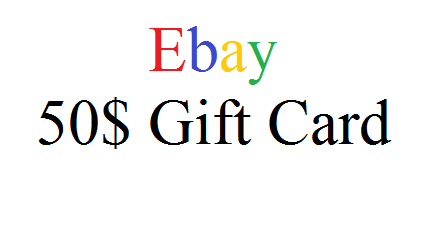 Ebay 50$ Gift Card for Free - With Working - Ebay Gift cards Download