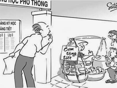 Tranh biếm họa về thực phẩm giả, kém chất lượng, mất vệ sinh - hình 5