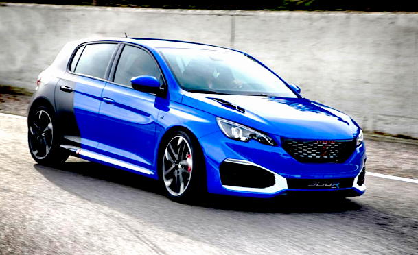 Peugeot 308 R HYbrid Car Review