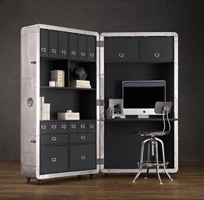 oficina escritorio ahorro espacio