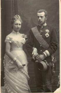 Rudolf y su mujer, Estefanía