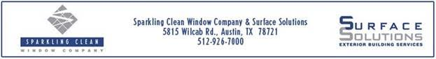Sparkling Clean Window Company