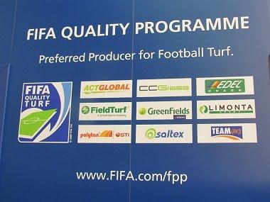 LIMONTA là 1 trong 9 thương hiệu sản xuất cỏ nhân tạo được FIFA chứng nhận chất lượng.