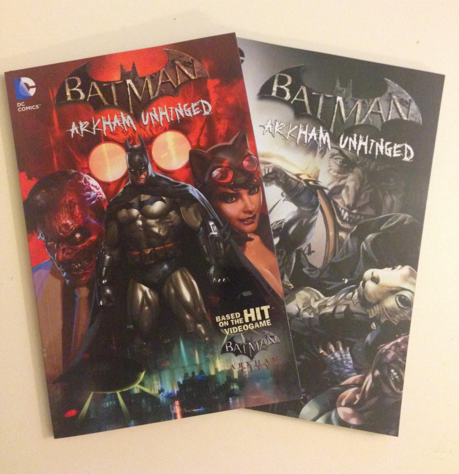 batman gotham arkham comic book