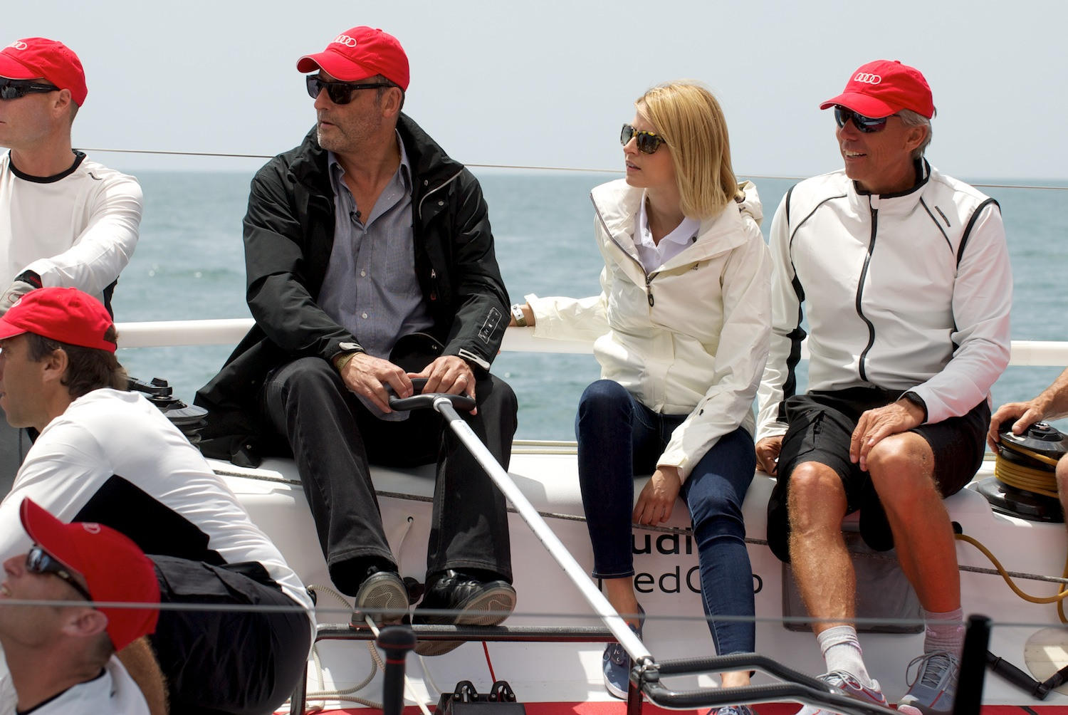 SailRaceWin Audi MedCup Jean Reno And Eva Padberg Christen The - Reno audi