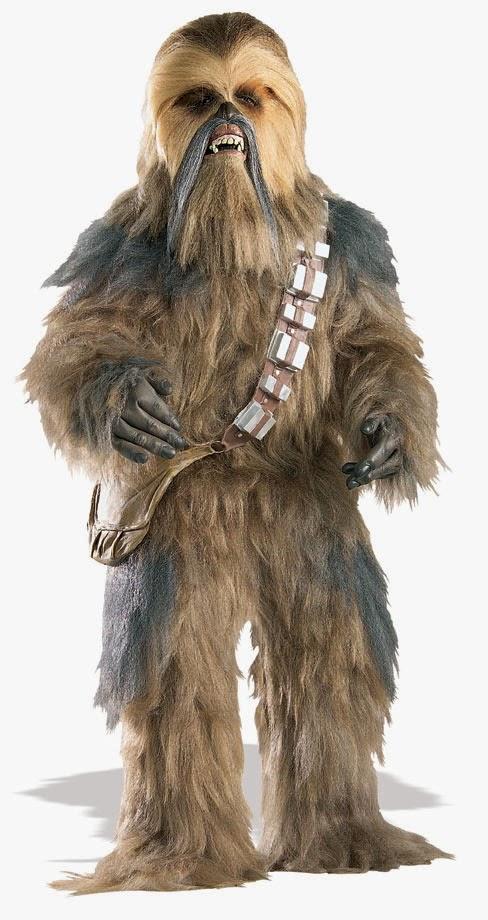Disfraz Chewbacca Edición lujo