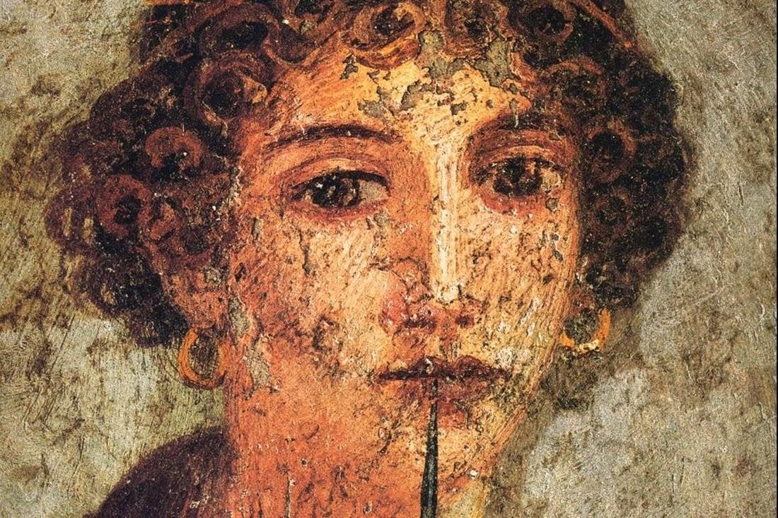 Saffo - Museo Archeologico Nazionale di Napoli