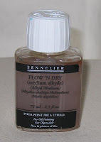 Sennelier Flow & Dry - alkyd oil medium