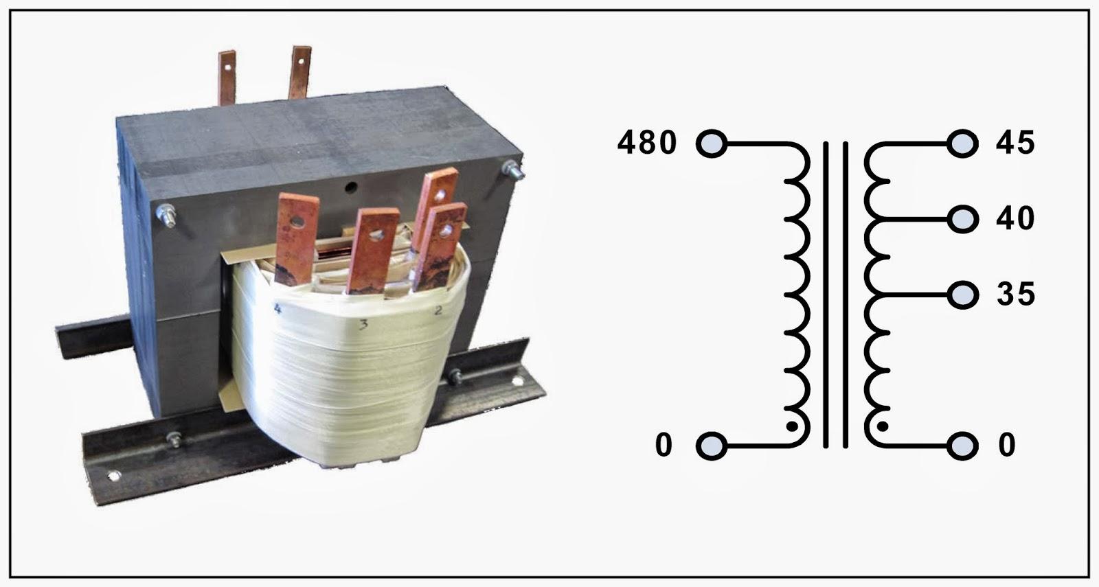 L C Magnetics October 2013 45 Kva Transformer Wiring Diagram Tap 12 P N 18828n Input 480 Vac Output 35 40
