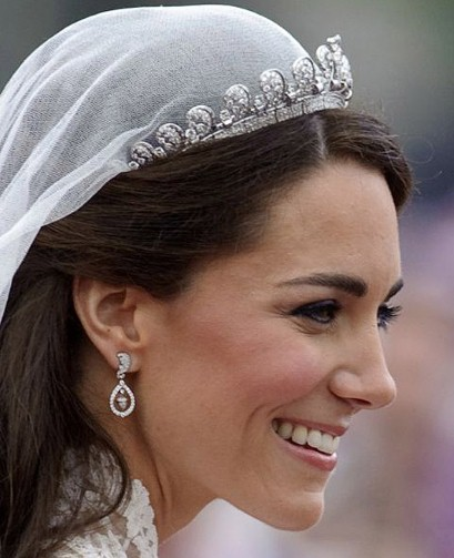 Kate Middleton Engagement Earrings