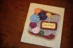 Floral Vintage Birthday Card