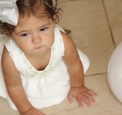aniversário de 1 ano e batizando  da   Maria Vitória