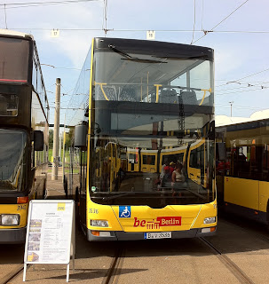 Bus: BVG testet Doppeldecker vom Hersteller Scania